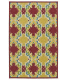 Kaleen A Breath of Fresh Air Fsr101-25 Red Area Rug