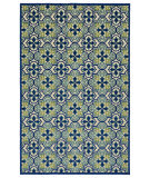 Kaleen A Breath of Fresh Air Fsr104-17 Blue Area Rug
