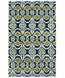 Kaleen Global Inspirations Glb03-17 Blue Area Rug