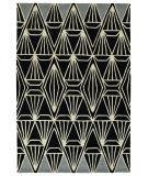 Kaleen Origami Org01-02 Black Area Rug