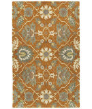 Kaleen Zocalo Zoc01-89 Orange Area Rug