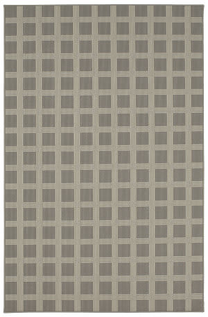 Karastan Design Concepts Woolston Plaid Worldly Gray Area Rug