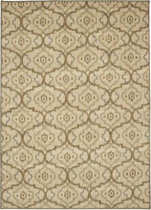 Karastan Design Concepts Simpatico Gala Cream Area Rug