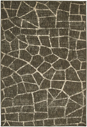 Karastan Simpatico Fragment Coffee Area Rug