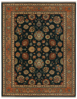 Karastan Sovereign Sultana Navy Area Rug