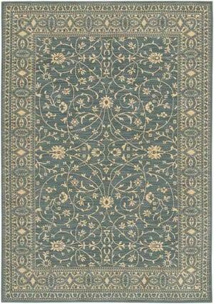 Karastan English Manor Somerest Lane Blue 2120-539 Area Rug