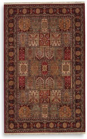 Karastan Antique Legends Bakhtiyari Black 2200-202 Area Rug