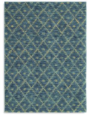 Karastan Woven Impressions Diamond Ikat Indigo 35502-23135 Area Rug