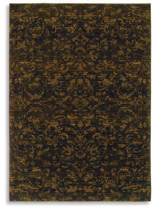 Karastan Woven Impressions Vintage Batik Espresso 35502-34140 Area Rug