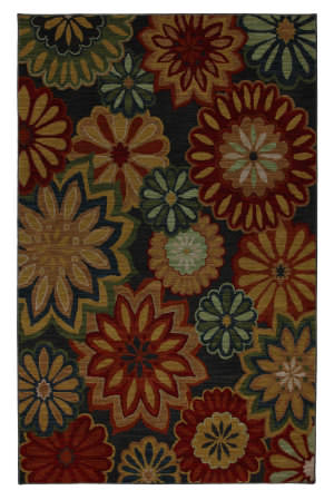 Karastan Crossroads Ashbury Black 38260-15101 Area Rug