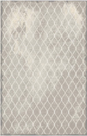 Karastan Titanium Swedish Isle Gray Area Rug