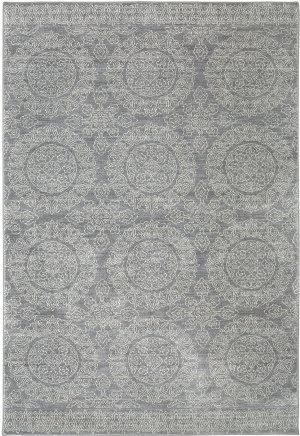 Karastan Pacifica Leawood Grey Area Rug