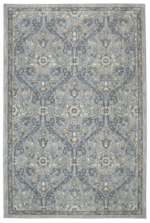Karastan Euphoria Galway Willow Grey Area Rug