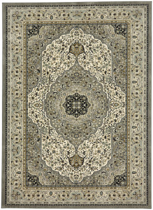 Karastan Touchstone Avonmore Willow Grey Area Rug