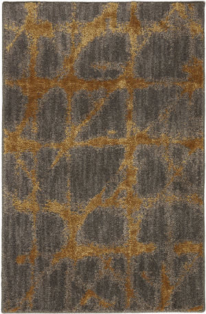 Karastan Enigma Contact Smokey Gray Area Rug