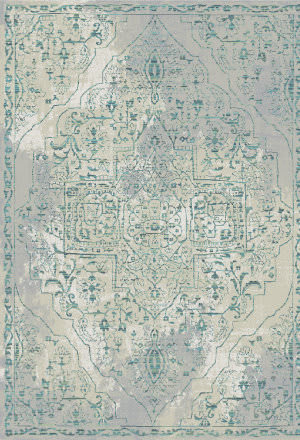 Karastan Euphoria Slaney Bone White Area Rug
