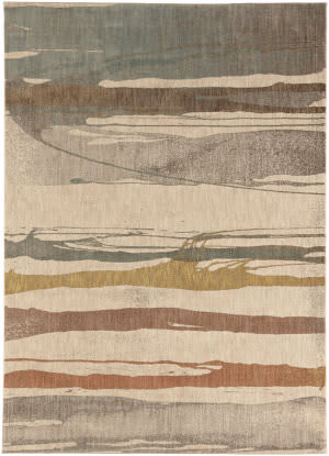 Karastan Intrigue Charm Cream Area Rug