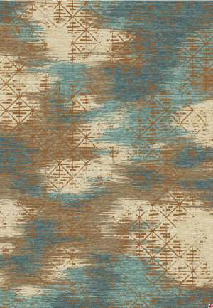 Karastan Intrigue Innovate Tobacco Area Rug