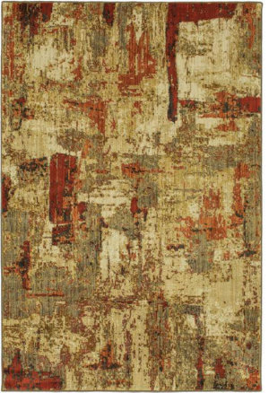 Karastan Elements Treviso Gold Area Rug