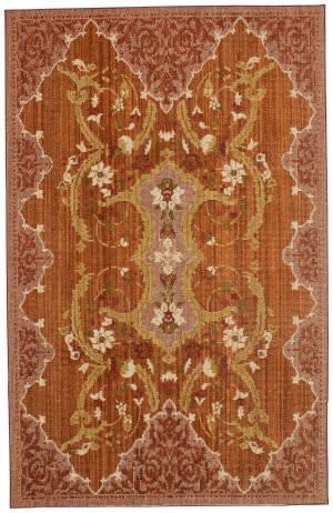 Karastan Vintage Tapis European Cottage Garnet Area Rug