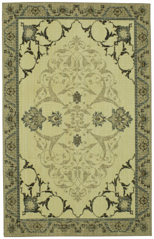 Karastan Vintage Tapis Chateau Gray Area Rug