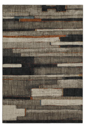 Karastan Elements Compose Oyster - Oatmeal Area Rug