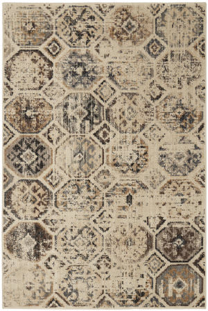Karastan Elements Tunis Beige Area Rug