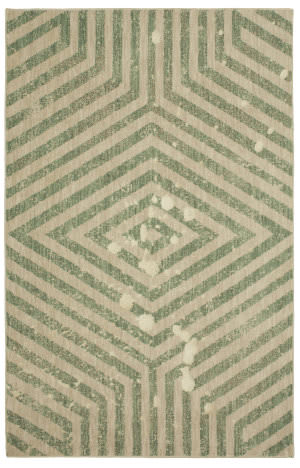 Karastan Cosmopolitan Moderne Jade Area Rug