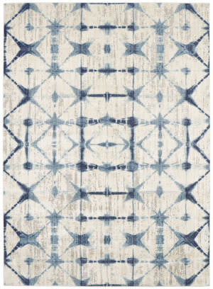 Karastan Expressions Triangle Accordion Beige Area Rug