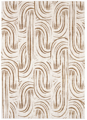 Karastan Artisan Equilibrium Brushed Gold Area Rug