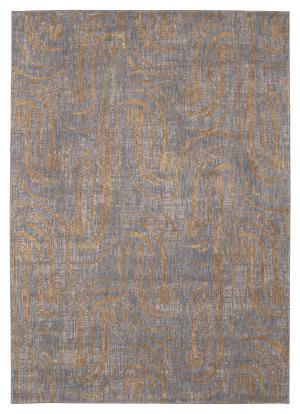 Karastan Artisan Equilibrium Smokey Grey Area Rug