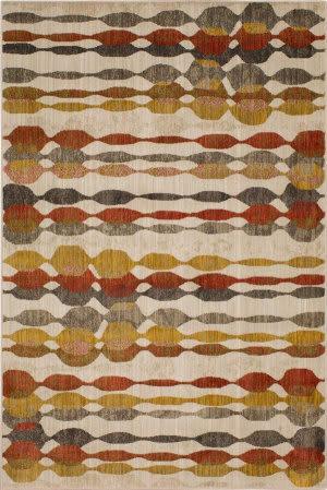 Karastan Expressions Acoustics Ginger Area Rug