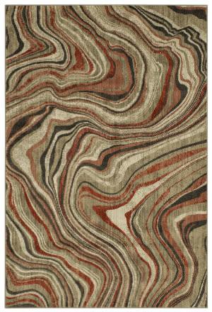 Karastan Expressions Sediment Ginger Area Rug