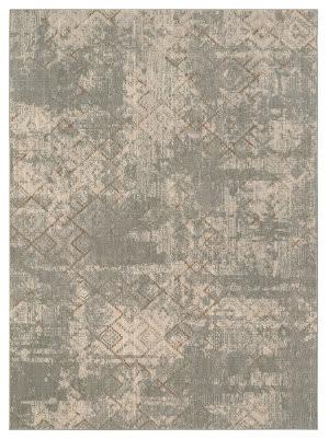 Karastan Elements Bisbee Oyster - Gray Area Rug