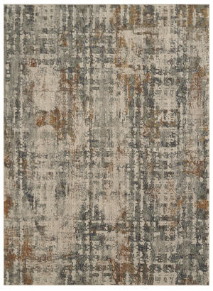 Karastan Elements Caballo Oyster - Gray Area Rug