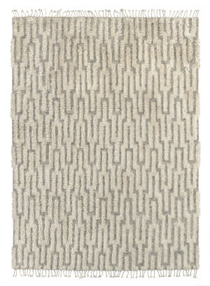 Karastan Latitudes Epoch Lacuna Grey - Cream Area Rug