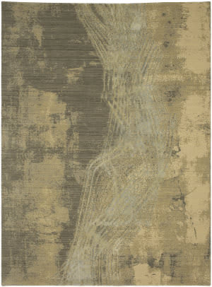 Karastan Decollage Ephemeral Cream Area Rug