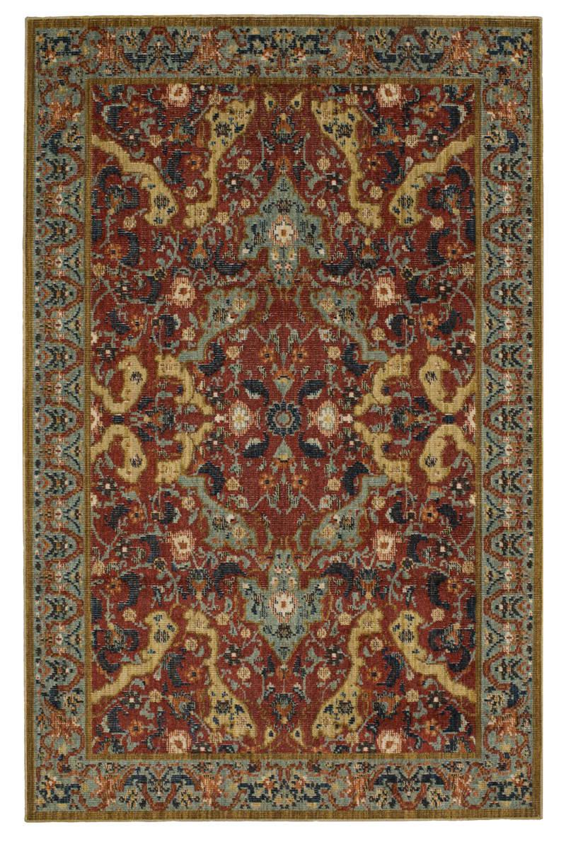 Karastan vintage tapis versailles garnet area rug 180873