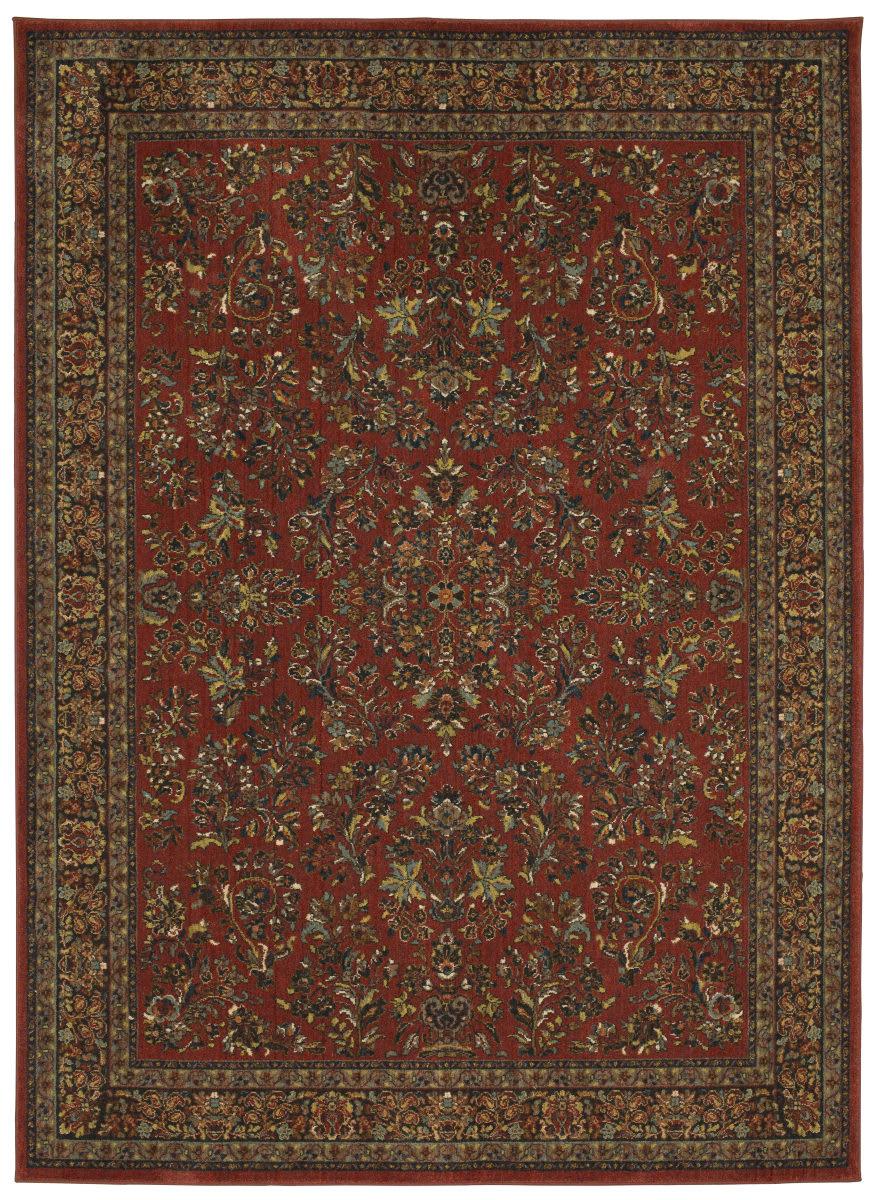 Karastan Spice Market Berdan Garnet Rug Studio