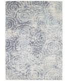 Karastan Expressions Imprinted Blooms Aqua Area Rug