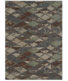 Karastan Elements Finley Denim - Gray Area Rug