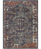 Karastan Soiree Damascus Indigo - Rose Gold Area Rug