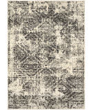 Karastan Tempest Compass Natural Cotton - Willow Grey Area Rug