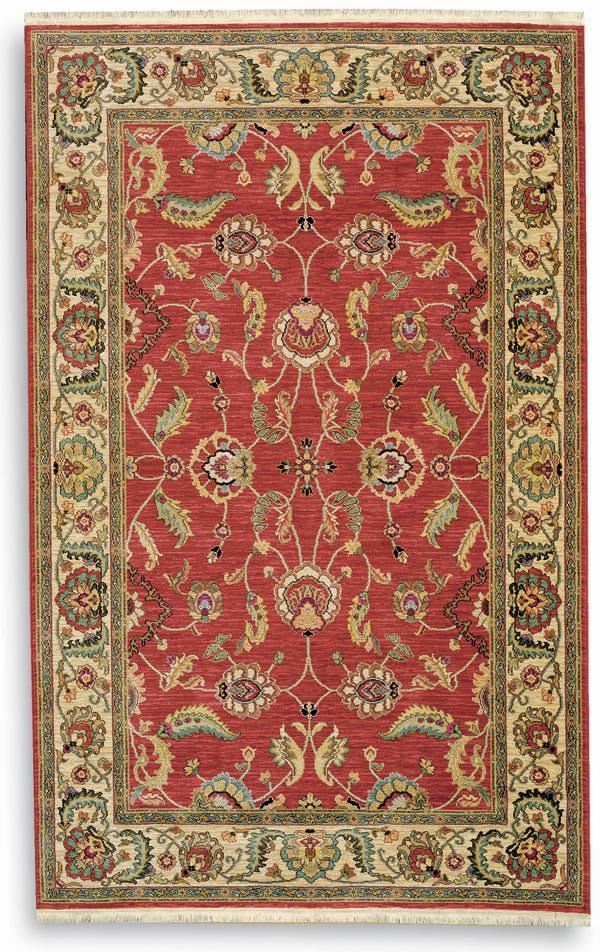 Karastan Ashara Agra Red 549 15002 Rug Studio
