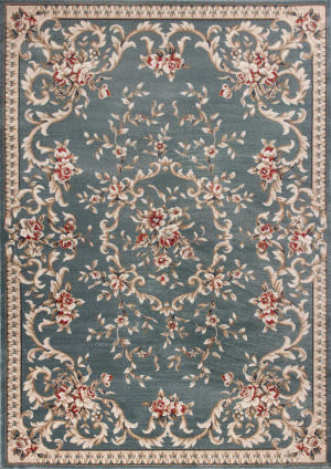 Kas Avalon 5602 Slate Blue Area Rug
