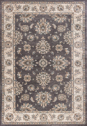 Kas Avalon 5608 Grey - Ivory Area Rug