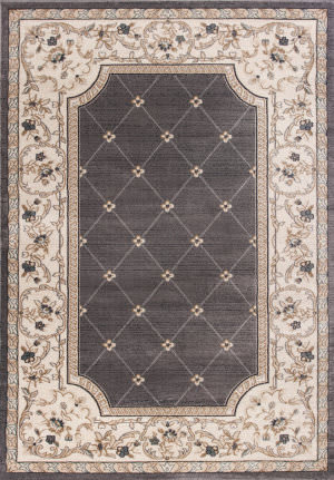 Kas Avalon 5615 Grey - Ivory Area Rug