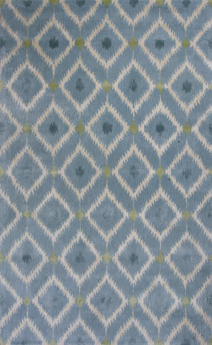 Kas Bob Mackie Home 1018 Blue Area Rug