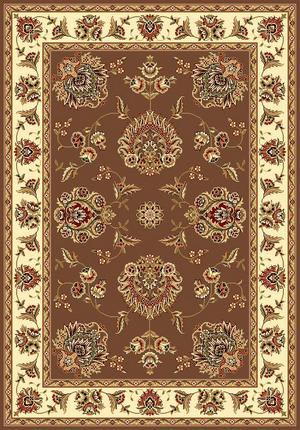 Kas Cambridge Floral Mahal Plum-Ivory 7341 Area Rug