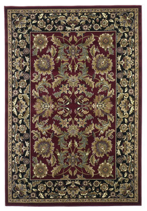 Kas Cambridge 7301 Red/Black Area Rug